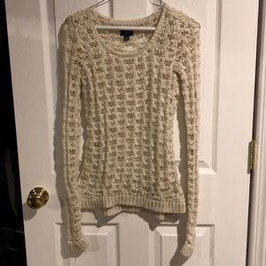 American Eagle crochet sweater